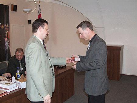 Награждение медалью «За выдающийся вклад в развитие коллекционного дела в России»