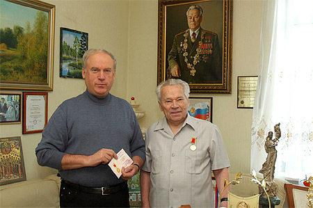 М.Т. Калашников награжден медалью «За выдающийся вклад в развитие коллекционного дела в России»
