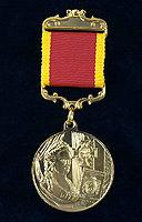 Аверс медали «За выдающийся вклад в развитие коллекционного дела в России»