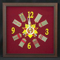 Часы-панно «Отечественная война».