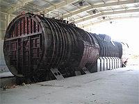 Хранящийся в настоящее время реакторный отсек и смежные с ним ПЛА К-431
